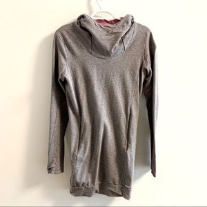 Bench medium long hoodie with pockets
